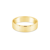 9Ct Yellow Gold Flat Wedding Band image