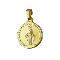 18ct Yellow Gold Miraculous Pendant image