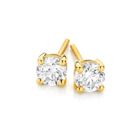 18ct Yellow Gold 0.40ct Diamond Studs image
