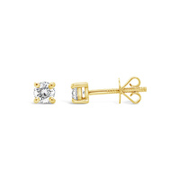 18ct Yellow Gold 0.46ct Diamond Stud Earrings image