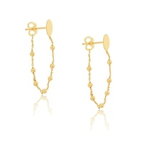 9ct Yellow Gold Chain Studs image