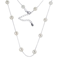 Sterling Silver Freshwater Pearl Necklace image