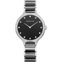 Bering Ladies Black Ceramic Watch image