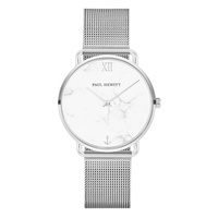 Paul Hewitt Marble Stainless Steel Mesh Watch image