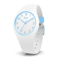 ICE Ola Kids Collection Blue and White Silicone Watch image