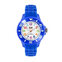 ICE Mini Collection Blue Silicon Time Teacher Watch image