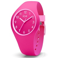 ICE Ola Kids Collection Pink Silicon Watch image