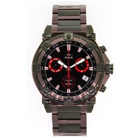 Adina Mens Coffee and Black Chronograph Watch image