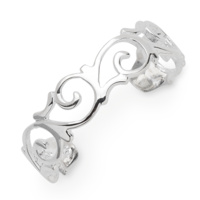 Sterling Silver Swirl Toe Ring image