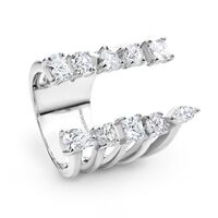 Georgini Silver Rumba Ring image