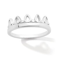 Pastiche Sterling Silver Tiara Ring image