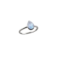 Von Treskow Small Pear Moonstone Ring image