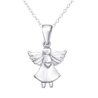 Sterling Silver Angel Necklace image