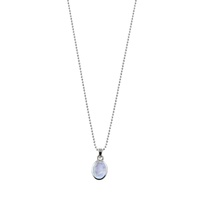 Von Treskow Ball Necklace with Oval Moonstone Pendant image