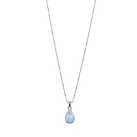 Von Treskow Ball Necklace with Pear Moonstone Pendant image