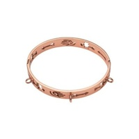 Nikki Lissoni Rose Plated Bangle image