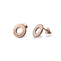 Von Treskow Rose Disc Earrings image