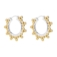 Najo Silver & Gold Aura Earring image