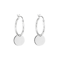 Najo Sterling Silver Calista Hoop Earrings image