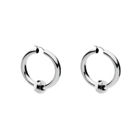 Najo Sterling Silver Toulah Hoop Earrings image