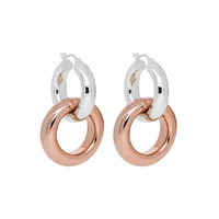Najo Two Tone Rumble Earrings image