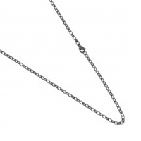 Najo IP Black Stainless Steel 86cm Chain image