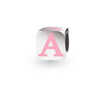 My Little Angel Pink Initial Cube A image