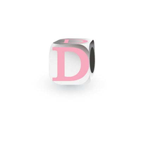My Little Angel Pink Initial Cube D image