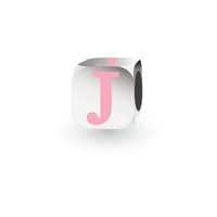 My Little Angel Pink Initial Cube J image