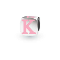 My Little Angel Pink Initial Cube K image