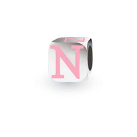 My Little Angel Pink Initial Cube N image