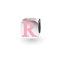 My Little Angel Pink Initial Cube R image
