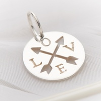 Palas Love And Arrow Cut Out Charm image