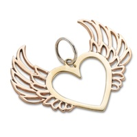 Palas Heart With Wings Charm image
