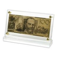 Australian Replica $100 24Ct Gold Note image