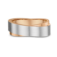 Dora Men's Contemporary Wedding Ring image