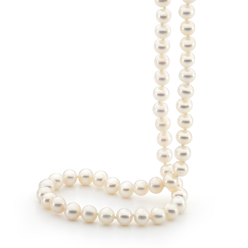 90Cm Freshwater Pearl Strand