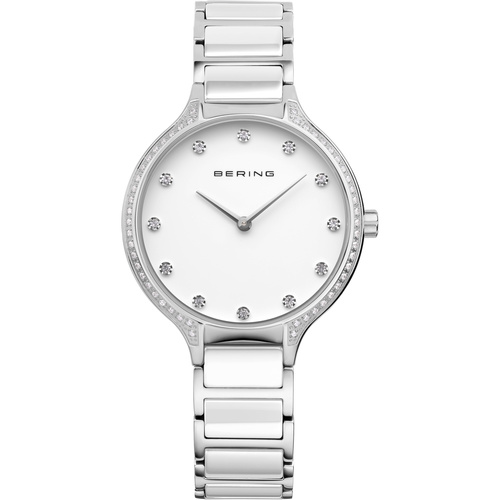 Bering Ladies White Ceramic Watch