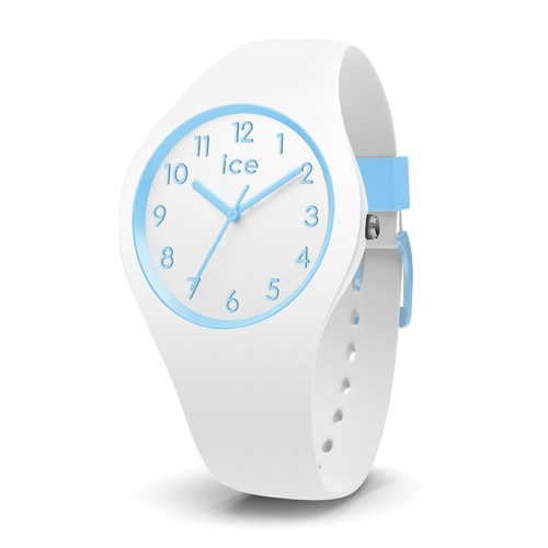 ICE Ola Kids Collection Blue and White Silicone Watch