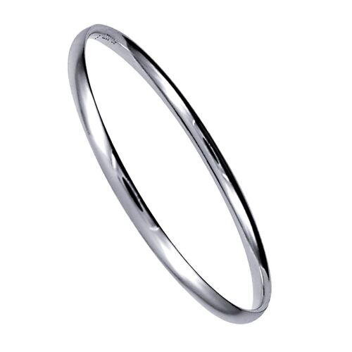 Sterling Silver 64mm Comfort Fit Bangle