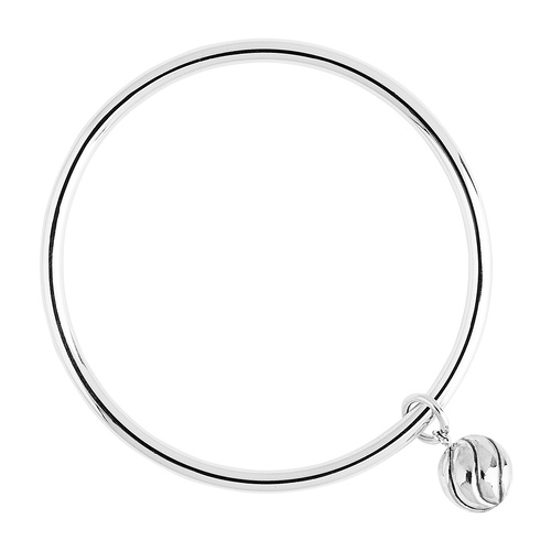Najo Sterling Silver Whirlpool Bangle